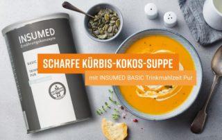 Bild Rezept scharfe Kürbis Kokos Suppe