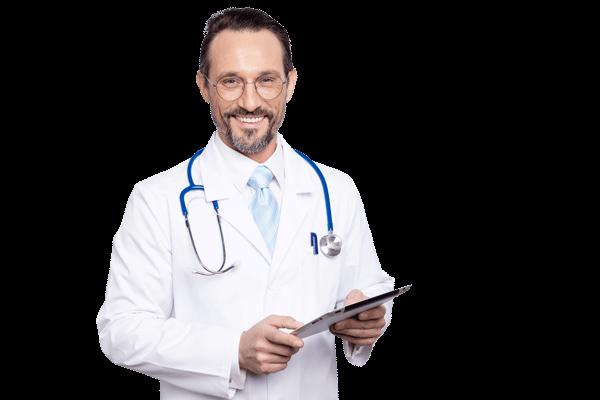 Bild Arzt als Ernährungsberater