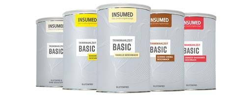 Abbildung Dosen INSUMED BASIC Trinkmahlzeiten
