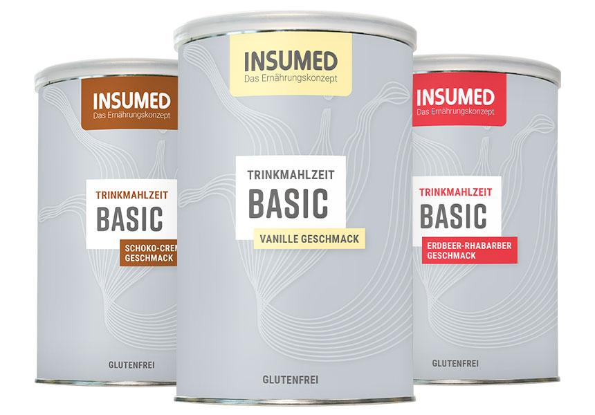 Produktabbildung INSUMED Trinkmahlzeiten Header